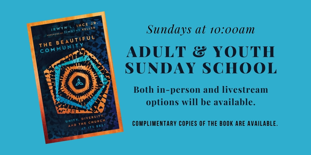 Adult and Youth Sunday School