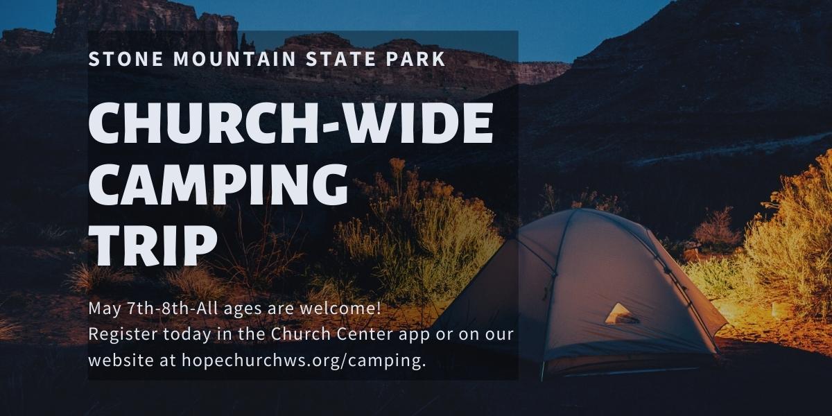 Copy of Church-wide Camping Trip