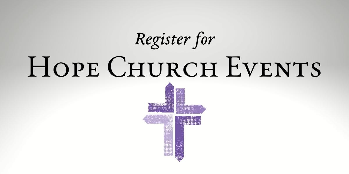 Hope Church Events