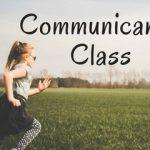 Communicants' Class