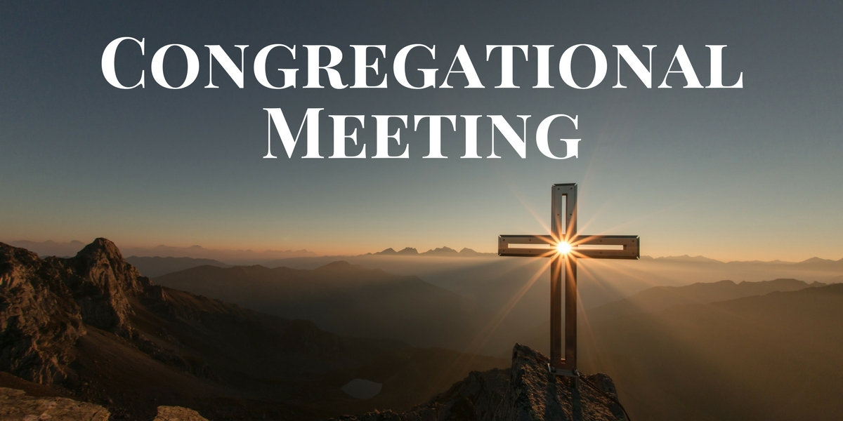 Congregational Meeting(1)