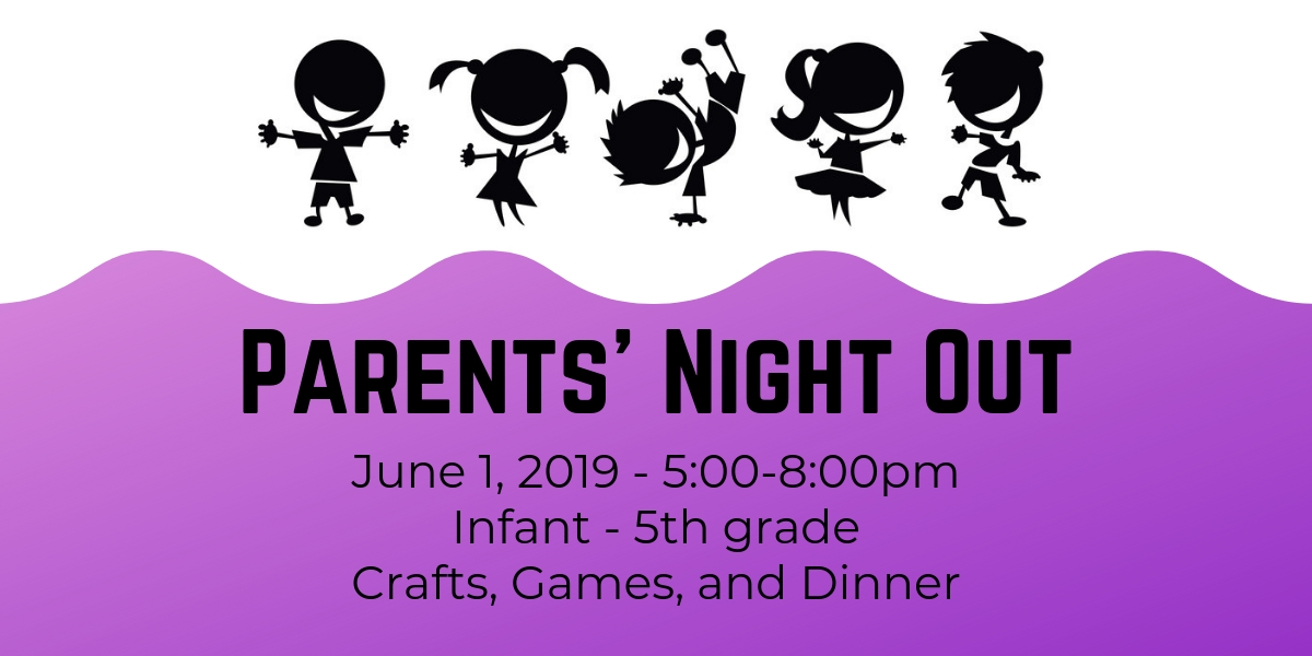Parents' Night Out – June 1