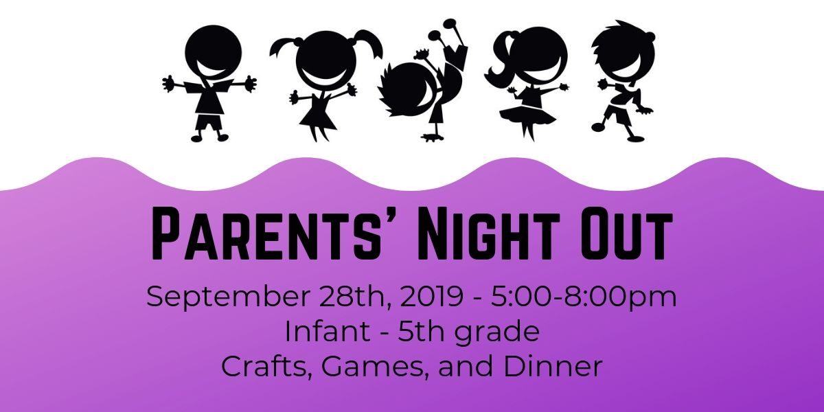 Parents' Night Out – Sept 28