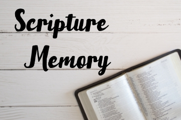 Children's Scripture Memory
